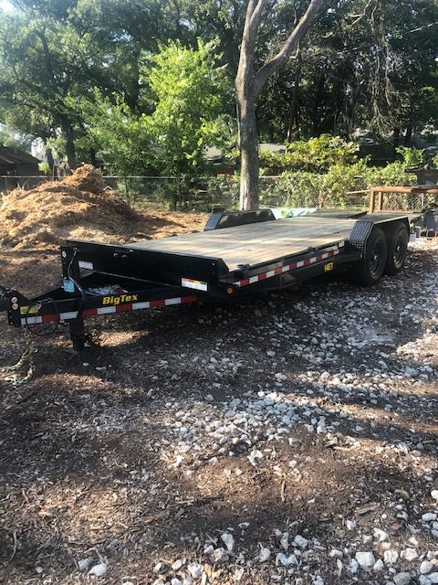 an image of a trailer for hauling large branches and debris away